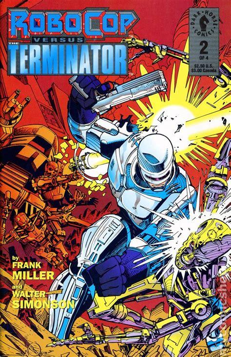 comics vs robocop vs terminator 1992 comic books