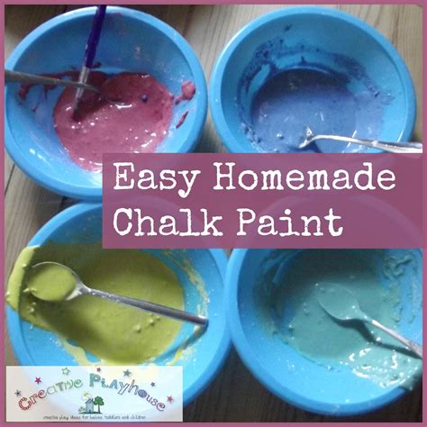 diy chalk paint thin creative playhouse easy chalk paint