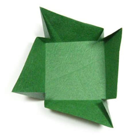 big origami box how to make a large square origami box cover page 8