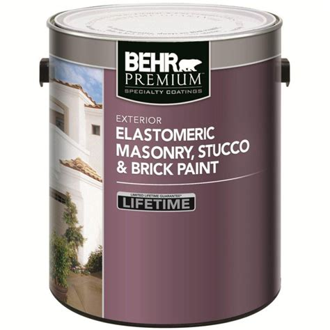 behr exterior paint colours canada behr elastomeric masonry stucco brick paint white 3