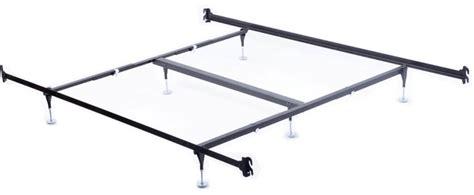 metal bed frame rails king hook on frame w headboard footboard brackets