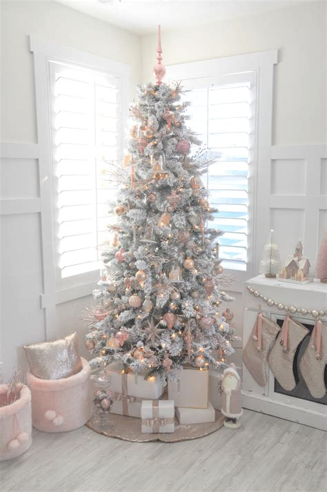 pictures of tree decorating ideas kara s ideas blush pink vintage inspired tree