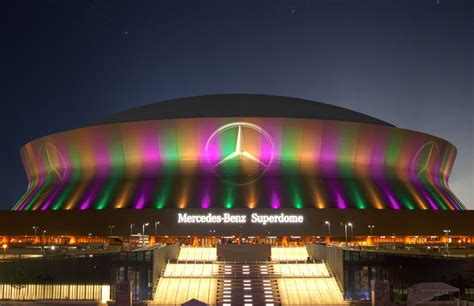 Where Is The Mercedes Superdome by Best Seats At Mercedes Superdome