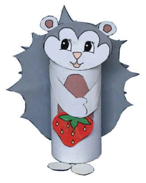 dltk crafts hedgehog toilet paper roll craft