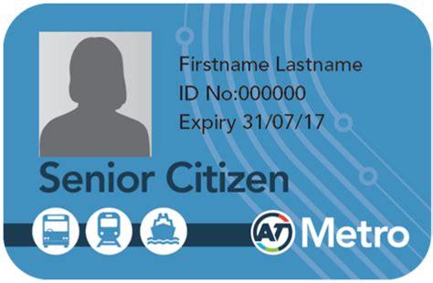 how to make senior citizen card senior supergold concession