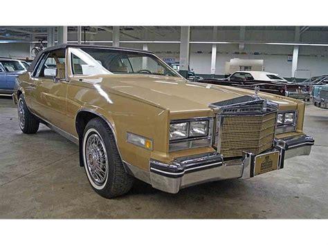 85 Cadillac Eldorado For Sale by 1985 Cadillac Eldorado For Sale Classiccars Cc 981335