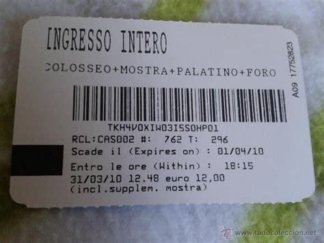 entrada ticket coliseo romano palatino y foro r comprar - Entradas Coliseo Romano Online