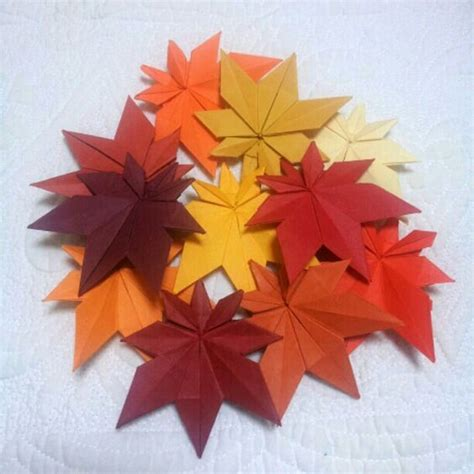 origami maple seed origami maple leaves and leaves on