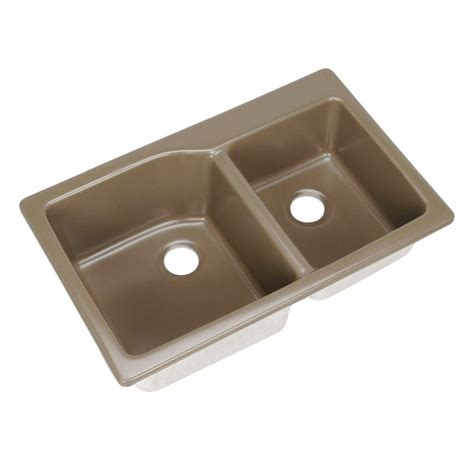 composite granite kitchen sink reviews mont blanc grande dual mount composite granite 34 in