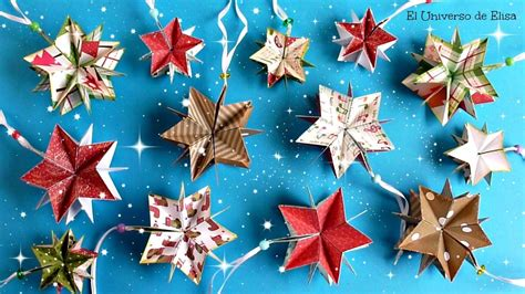 manualidades para arbol de navidad decora tu 193 rbol de navidad con estrellas de papel