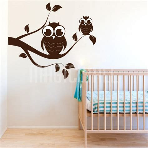 nursery wall decals canada wall decals owl branch nursery wall stickers canada