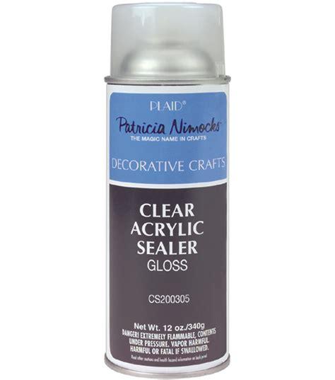 acrylic paint gloss finish plaid clear acrylic sealer gloss matte 12 oz jo