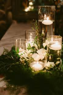 wreath centerpiece ideas floral wreath wedding centerpieces with floating candles