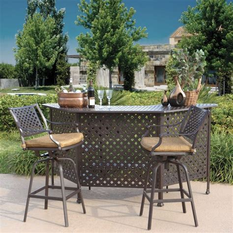 patio furniture bars 12 outdoor bar furniture for escaping from your