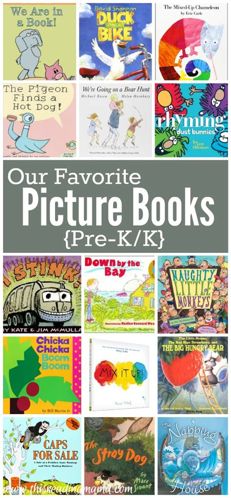 favorite picture books favorite picture books for pre k k