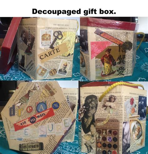 decoupage gifts decoupage gift box zepol