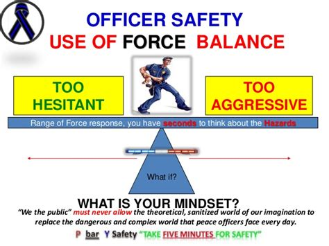 use of officer safety use of risk assessment
