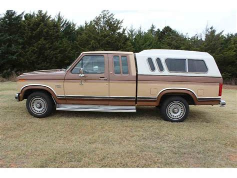Ford F150 Lariat For Sale by 1986 Ford F150 Lariat For Sale Classiccars Cc 1038752