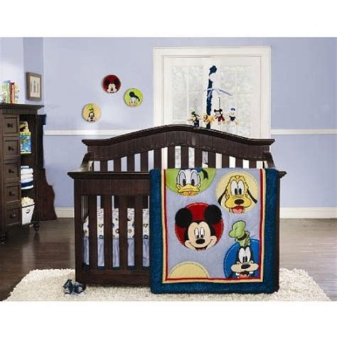 baby mickey crib bedding disney mickey mouse and friends crib bedding collection