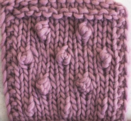 popcorn stitch knit how to knit the popcorn stitch allfreeknitting