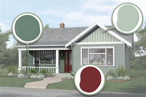 exterior house paint colors one story finishing touches paint photoshop redo plain box gets