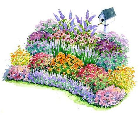 flower garden plans no fuss bird and butterfly garden plan gardens to be