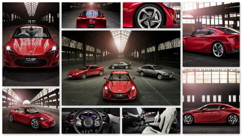 Car Collage Wallpaper by 40 Hd Stunning Toyota Wallpaper Images For Free