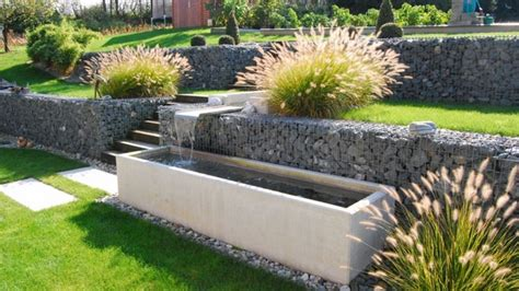 retaining garden wall ideas gabion wall how to use it in the garden landscaping