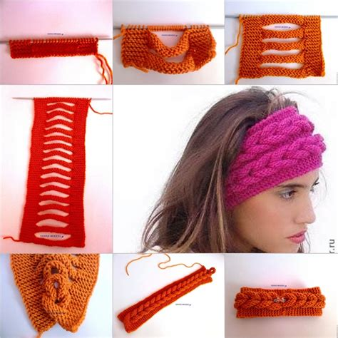 how to knit braid knit faux braid pattern free beesdiy