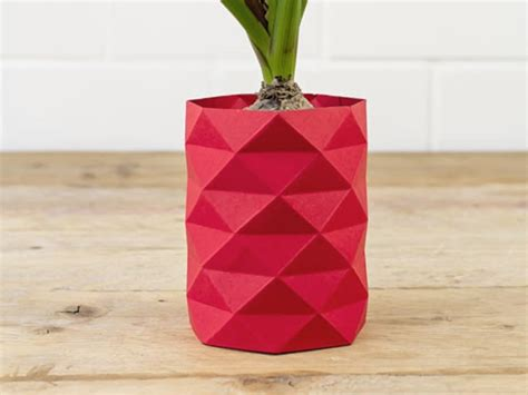 origami vase how to make an origami vase