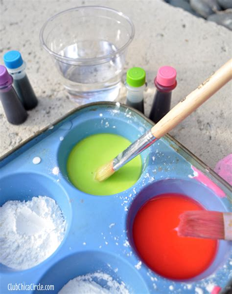 chalk paint to make how to make sidewalk chalk paint club chica circle