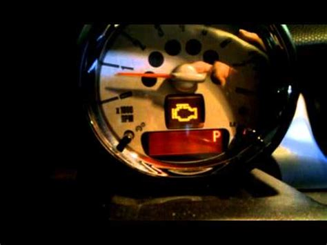 Engine Check Light by R56 Mini Cooper S How To Read Trouble Code From Trip