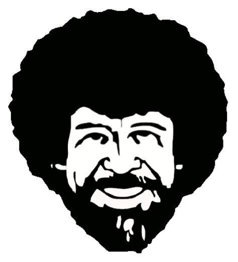 bob ross painting black and white bob ross facts quotes jokes images and