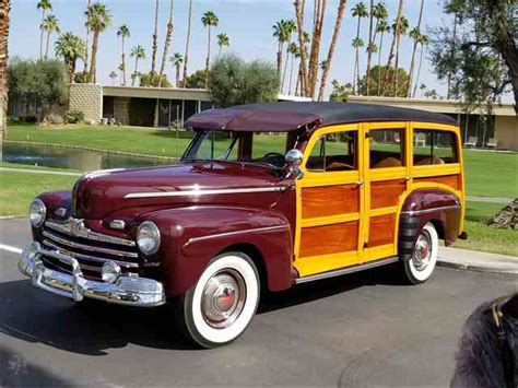 Ford Woody by 1947 Ford Woody Wagon For Sale On Classiccars