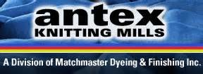 antex knitting mills antex knitting matchmaster dyeing and finishing