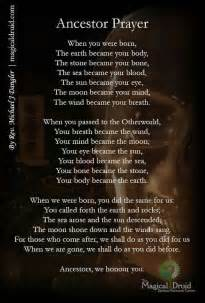 wiccan prayer samhain all hallows blessings prayers and