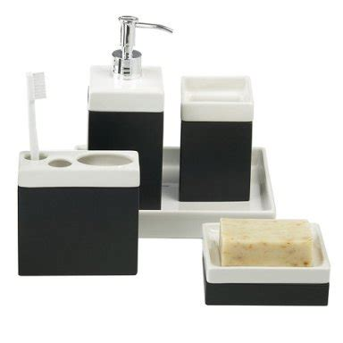 Black And White Bathroom Accessories by Home Garden Presenting Home Decor Home Appliances