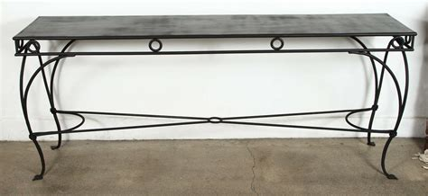 wrought iron sofa tables wrought iron moroccan style console or sofa table at 1stdibs
