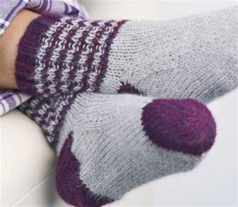 knitted bed socks free patterns 1000 images about strik og h 230 kling on free