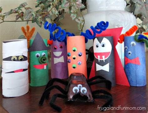 Toilet Paper You Monster by Tutorial Tp Roll Monsters An Easy Halloween Craft With