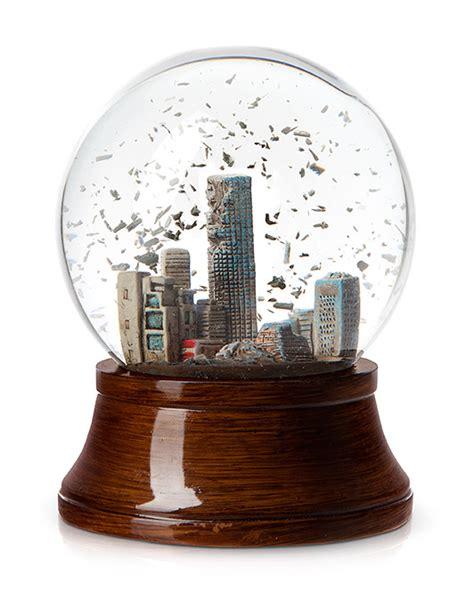 snow globe apocalypse snow globe thinkgeek