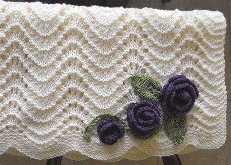 feather and fan knitting pattern feather fan baby blanket pattern on ravelry knitting