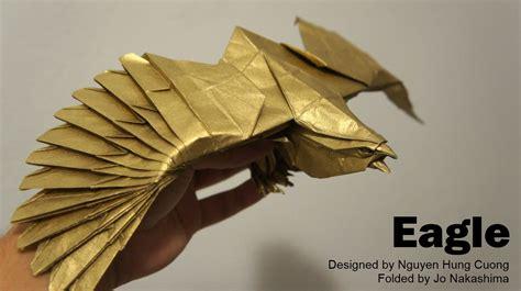 origami eagle origami malaysia