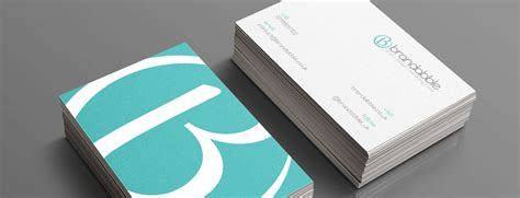 how do you make business cards how to create a great business card brandabble
