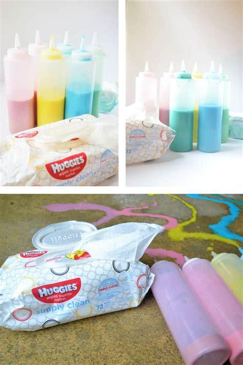 diy sidewalk chalk paint recipe sidewalk chalk paint recipe