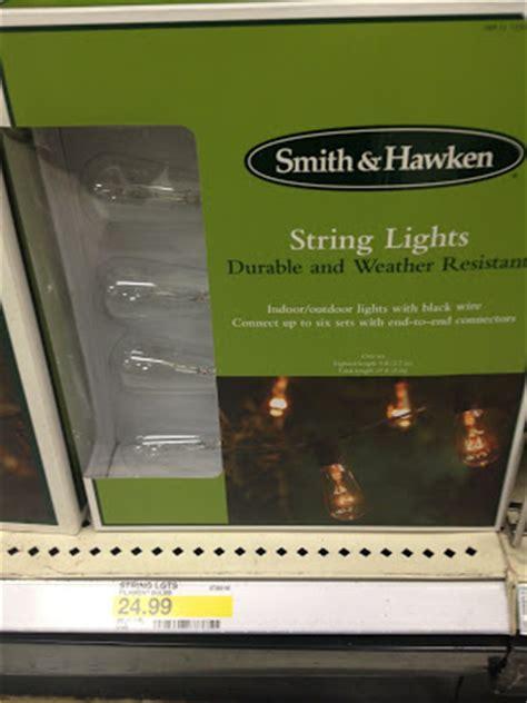 target smith and hawken string lights copy cat chic restoration hardware vintage light string