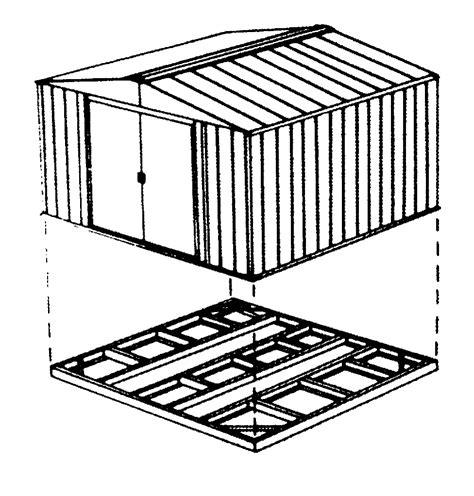 chalet jardin boutique kit d ancrage pour abris mtal sol bton