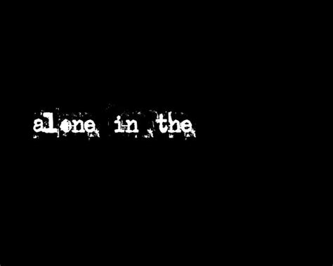 in the alone in the on vimeo