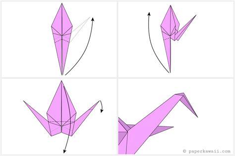simple crane origami easy origami crane