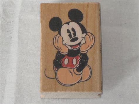 mickey mouse rubber st disney rubber st of mickey mouse sitting and by